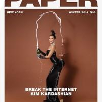 Kim Kardashian on cover of Paper Magazine