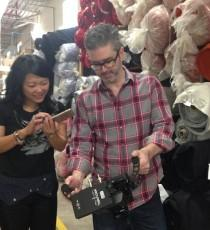 Kathy Cheng getting the shot at WS & Co.