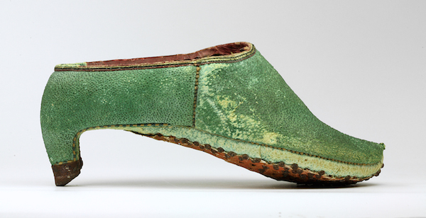 Persian, 17th century riding shoes