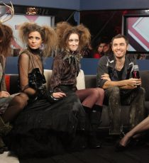 Lucian Matis with models