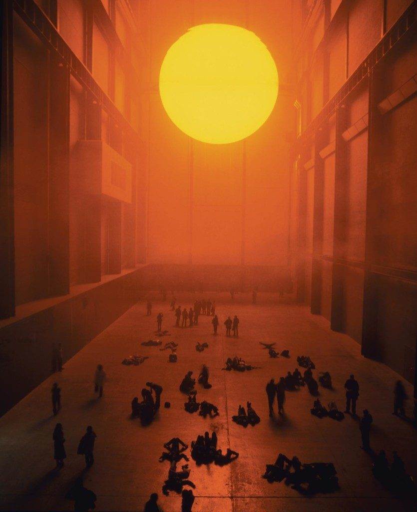 Olafur Eliasson The Weather Project 2003