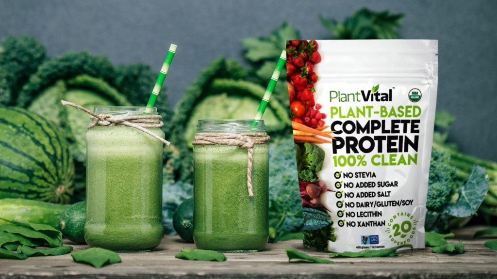 PlantVital Complete Protein Greens supplement